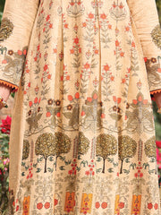 Beige Lawn 3 Piece Unstitched - ALP-3PS-927