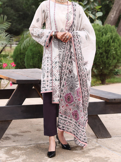 Almirah ALP-3PS 928 Grey Lawn Collection