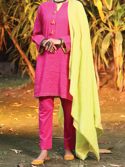 Almirah ALP-3PS 948 Pink Lawn Collection