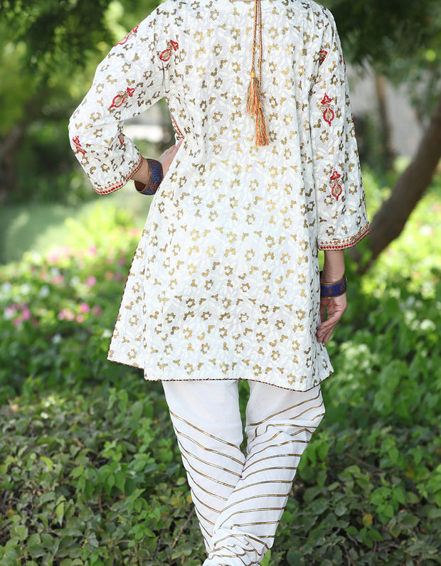 Off White Tunic - AL-LK-627
