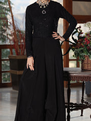 Black Formal Maxi - AL-1PS-LS-278