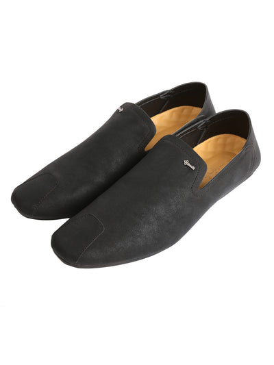 Black Suede Slip-On - AL-MSHO-013-20