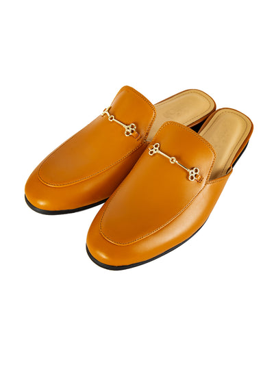 Tan Leather Slip-On - AL-MSHO-017-20