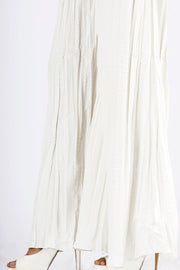 White Dyed Women Trouser - AL-T-287A