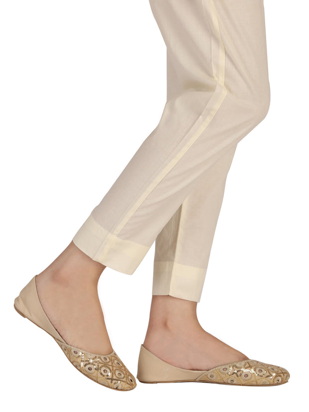 Cream Cotton Trouser - AL-T-413A