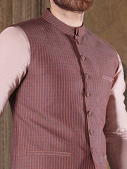 Light Purple Suiting Waistcoat - AL-WC-329