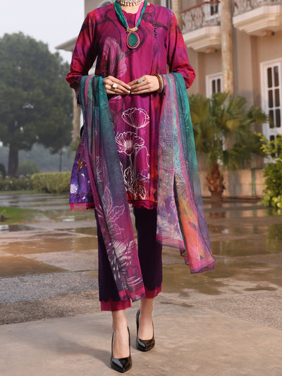 Purple Lawn 3 Piece Stitched - ALP-3PS-942/S
