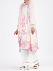 Pink Lawn 2 Piece Unstitched - ALP-2PS-858
