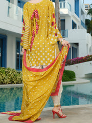 Yellow 3 Piece Unstitched - ALP-3PS-840