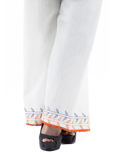 White Women Trouser - AL-T-383