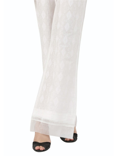 White Women Trouser - AL-T-392