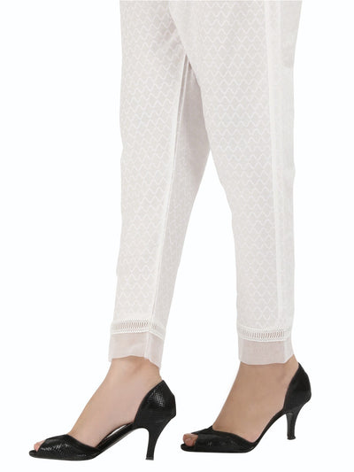 White Women Trouser - AL-T-394A