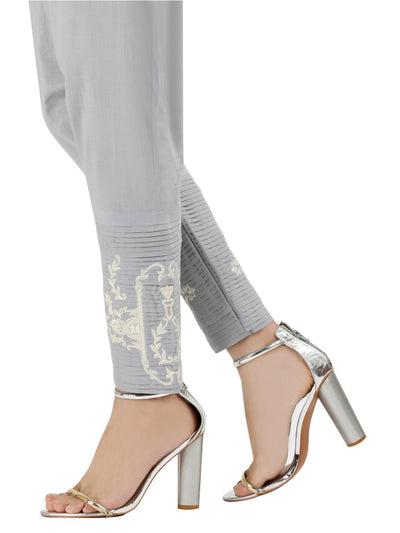 Grey Women Trouser - AL-T-400