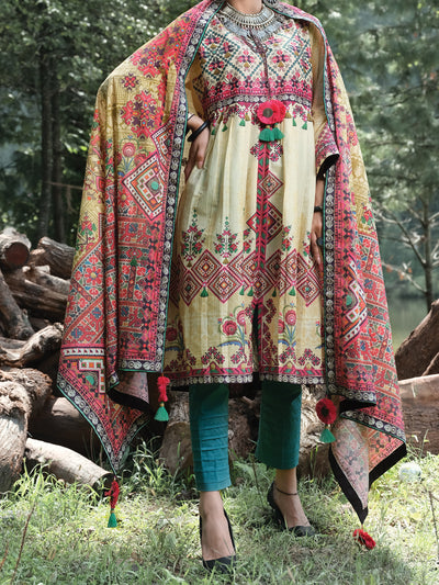 Almirah ALP-2PS 1005 Lime Lawn Collection