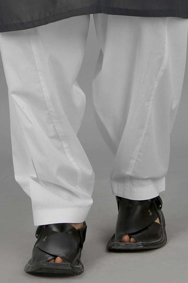 White Men Shalwar - AL-MS-002B
