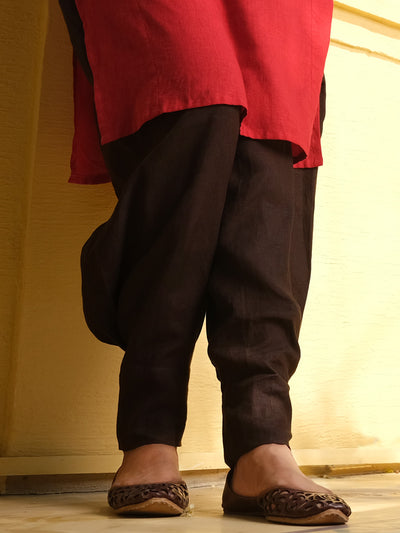 Brown Linen Trouser - ALCR-T-1007