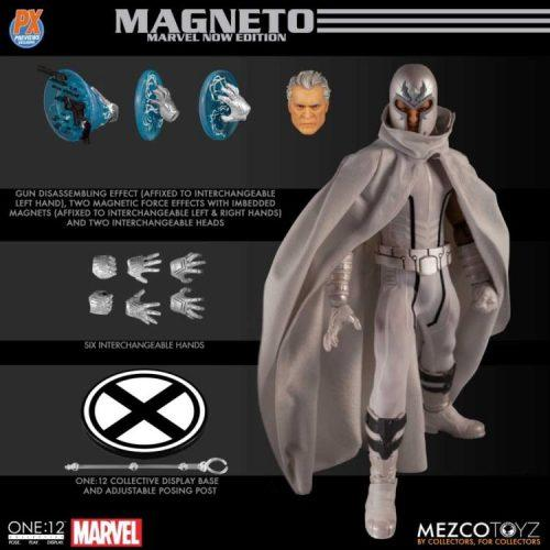 [AUGUST 2020] PRE ORDER X-Men Magneto Marvel NOW! Edition One:12 Collective Action Figure - Previews Exclusive MEZCO