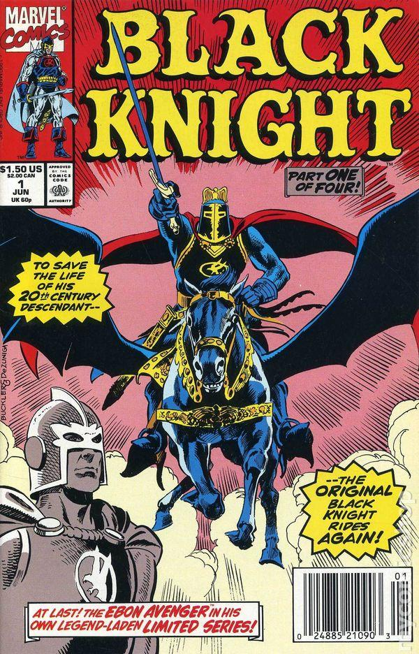 Black Knight #1 (1990) Marvel Mini Series (Not 100% MINT) Comics
