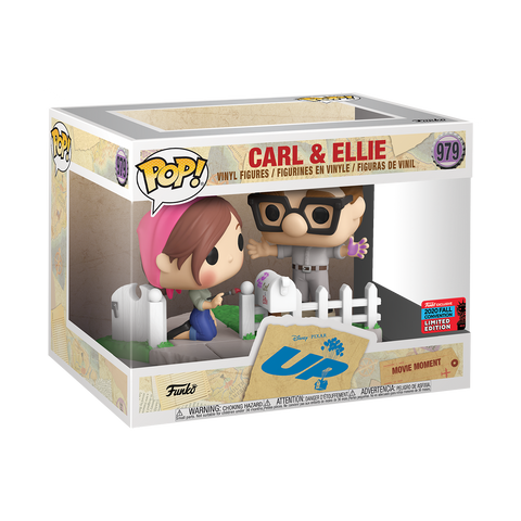Disney : Carl and Ellie Movie Moment Fall Convention NYCC 2020 Exclusive