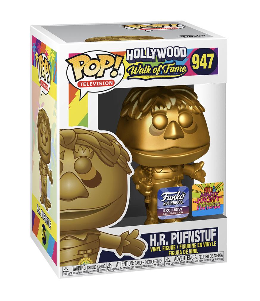 Funko Shop : Gold H.R. Pufnstuf & Gold Sleestak Hollywood Bundle Exclusive FUNKO