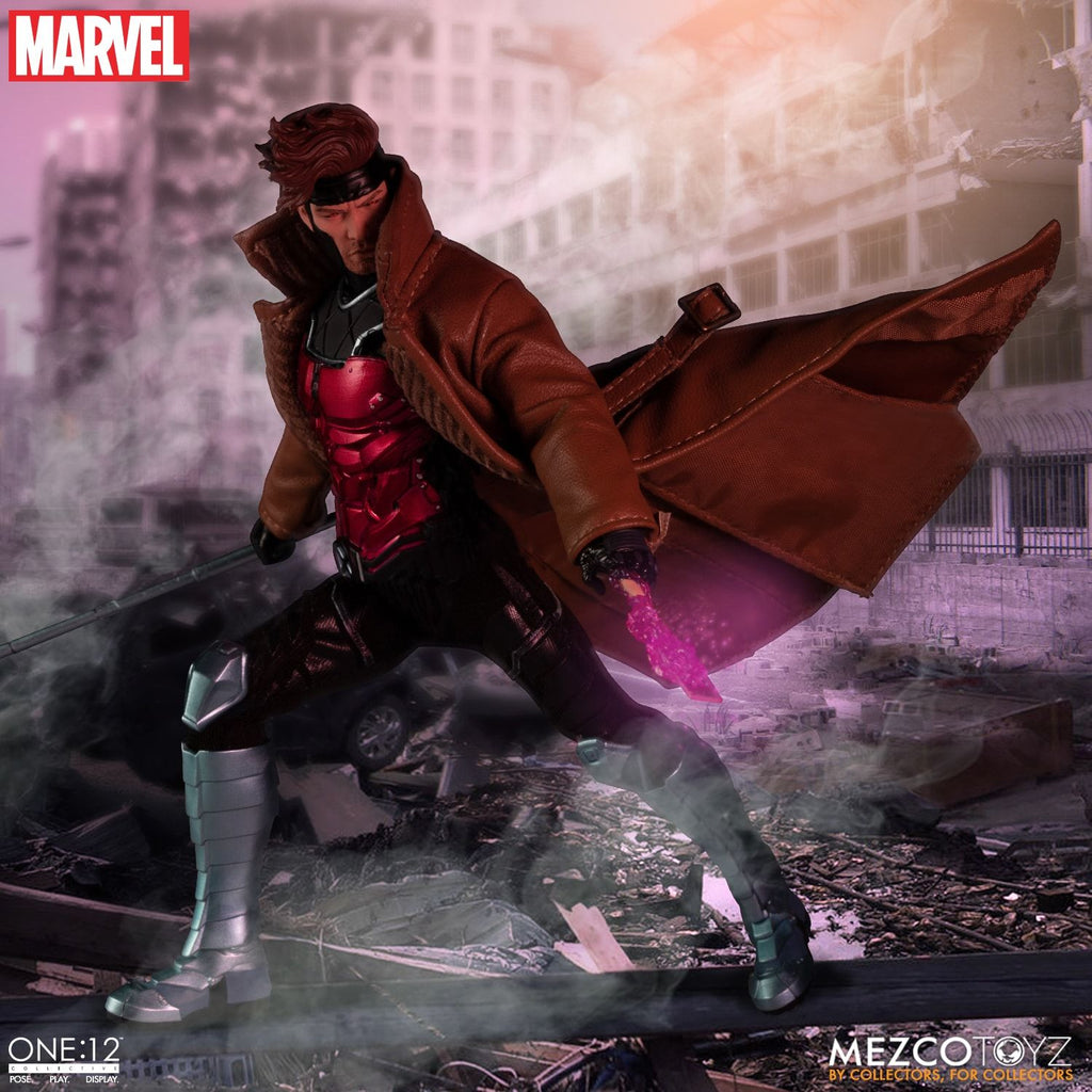 Gambit One:12 Collective Action Figure [PRE ORDER] [JUNE - AUG 2020] MEZCO