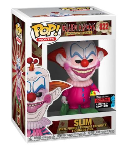 Horror: Slim Killer Klowns Fall Convetion Shared Exclusive w/ Pop Protector FUNKO