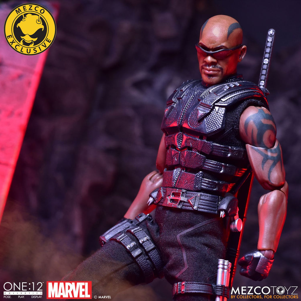 MDX One:12 Blade Mezco Exclusive (Sealed) MEZCO
