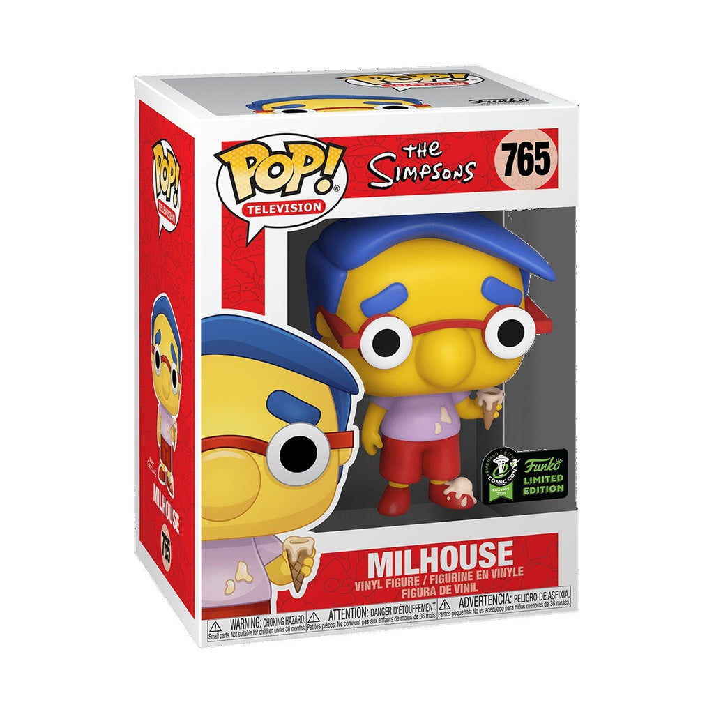 Simpsons : Milhouse ECCC Con Exclusive FUNKO