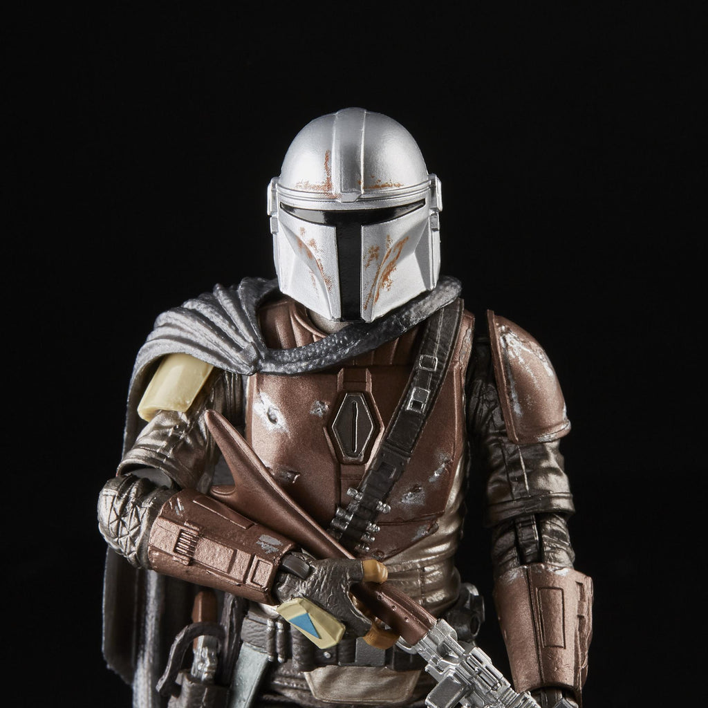Star Wars TBS : Carbonized Mandalorian 6 Inch Action Figure (Target Exclusive) vRareStore