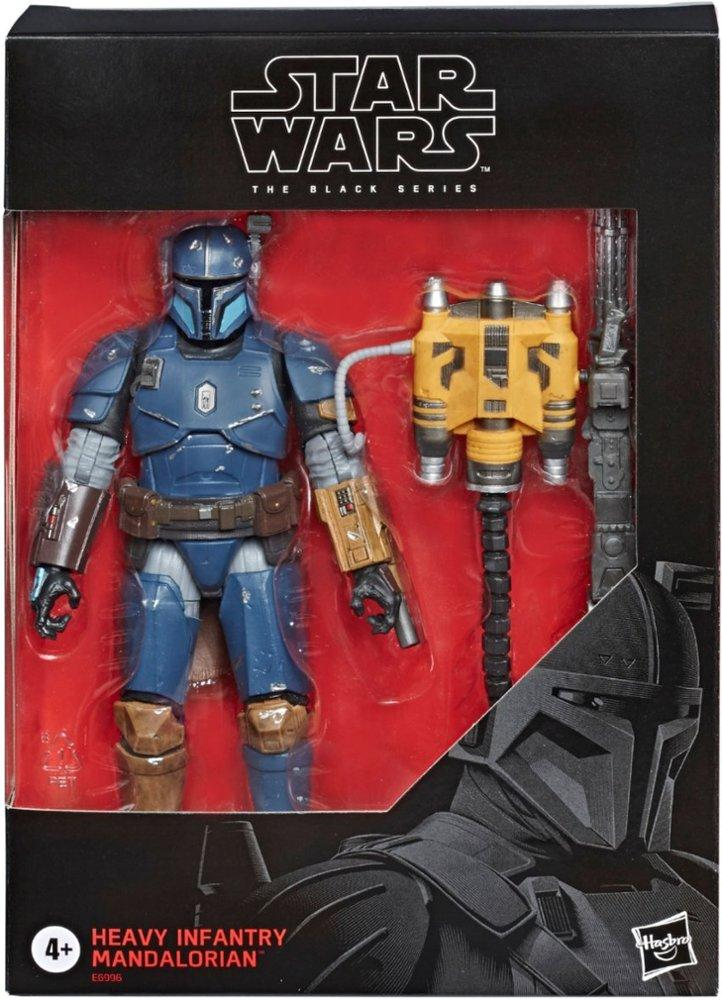 Star Wars TBS : Heavy Entry Mandalorian Deluxe Action Figure The Black Series