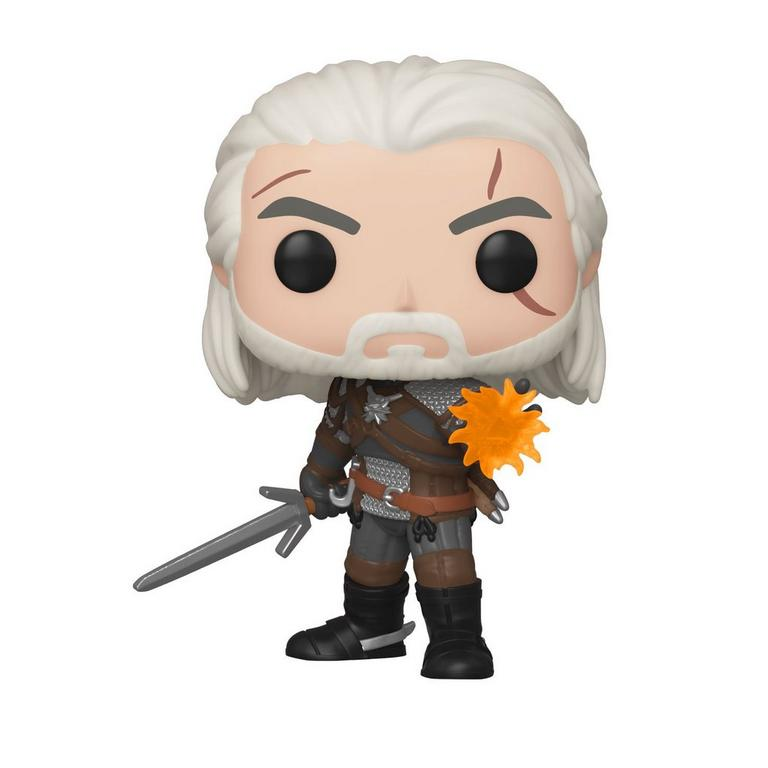 Witcher : Geralt GITD Funko Pop! Gamestop Exclusive FUNKO