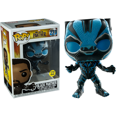 Marvel : Black Panther Glow In The Dark Exclusive