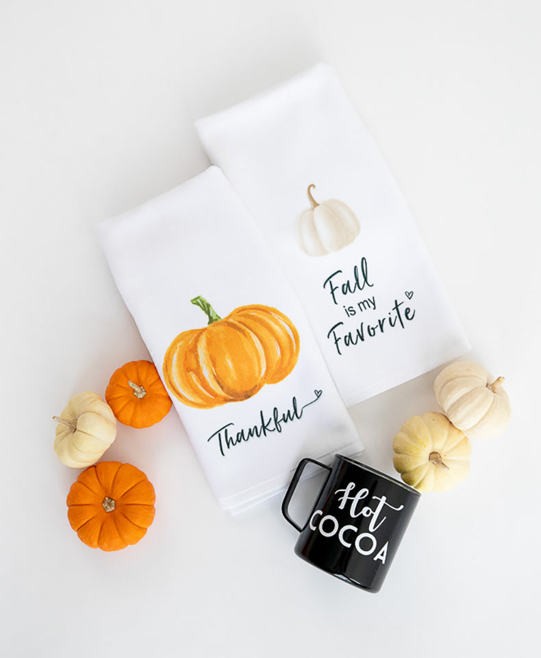 Hand Towel Plush - Fall is My Favorite