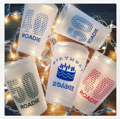 Frosted Stadium Cups - 50th Roadie