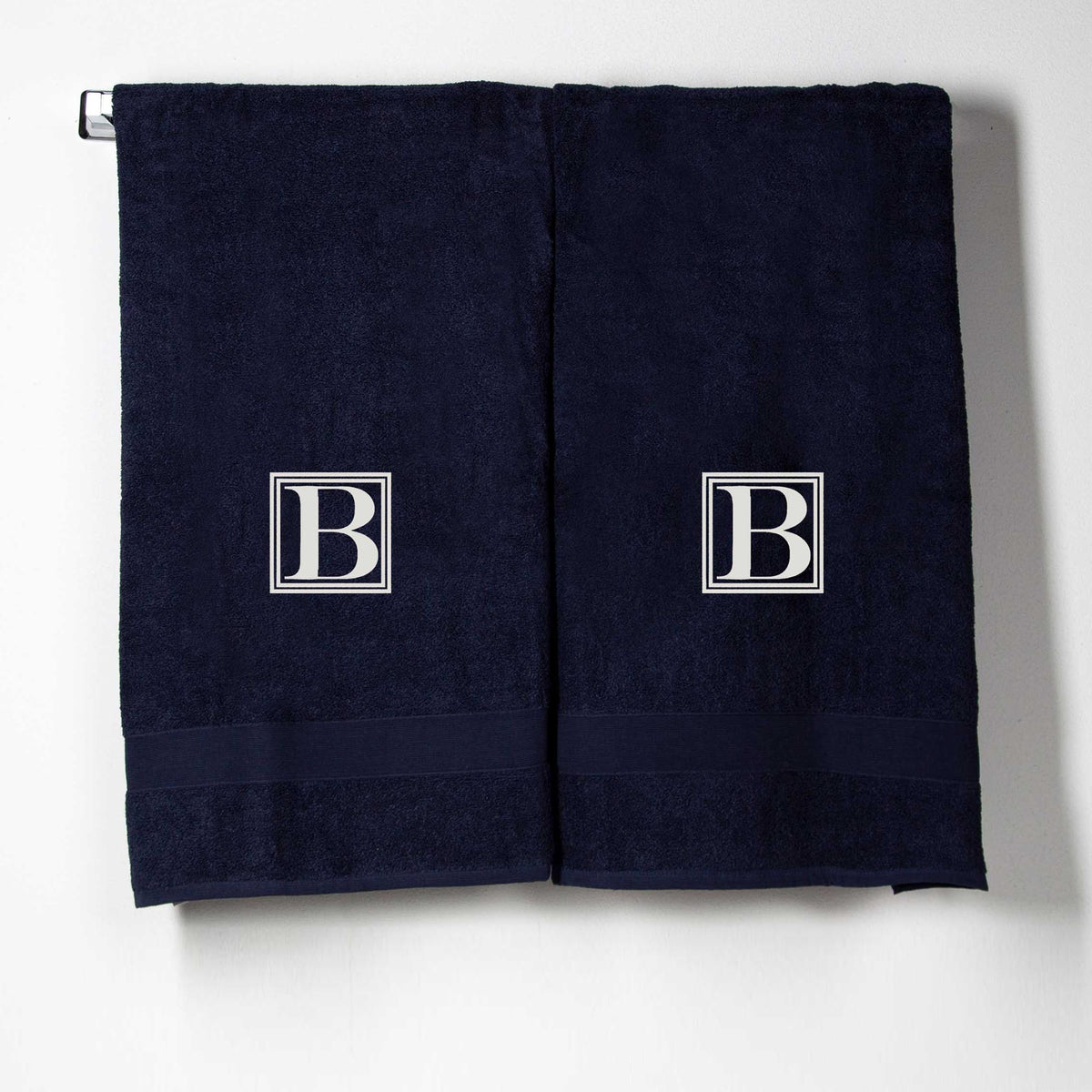 Personalized Bath Towels - Set of 2