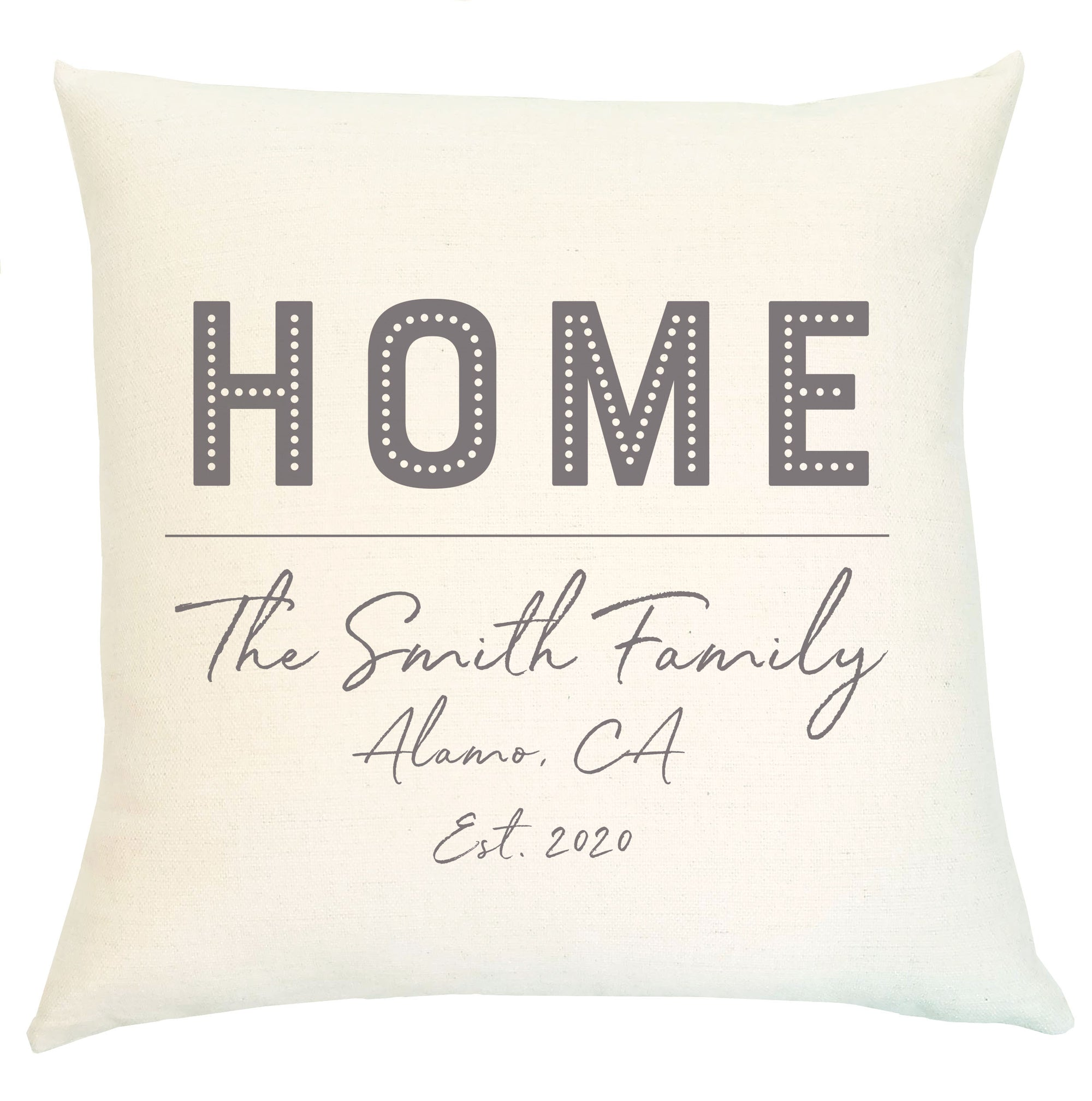 Pillow Personalized - Home