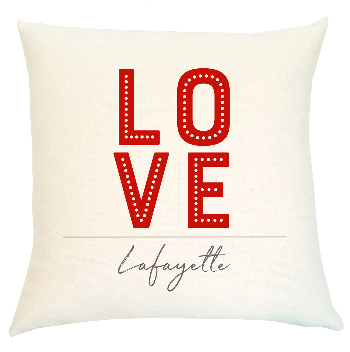 Pillow Personalized - Love