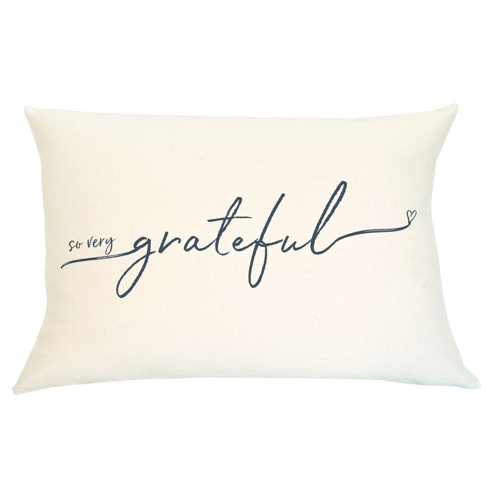 Pillow Lumbar - So Very Grateful - Insert Included