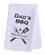 Hand Towel Plush - Dad's BBQ Made with Love