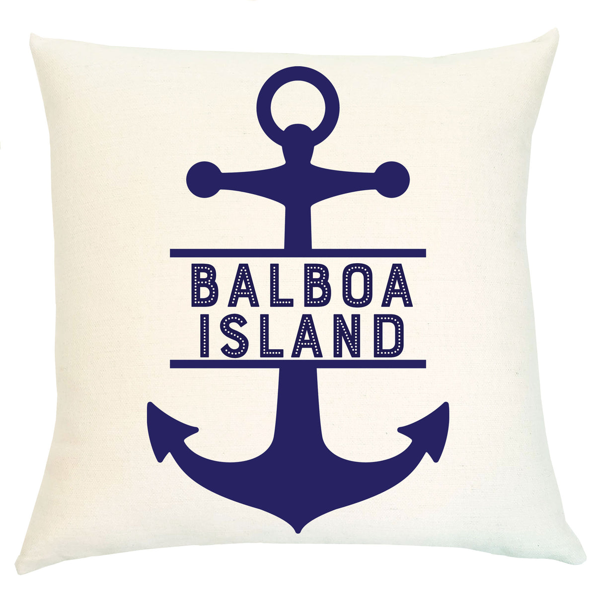 Pillow Personalized - Anchor with City Name