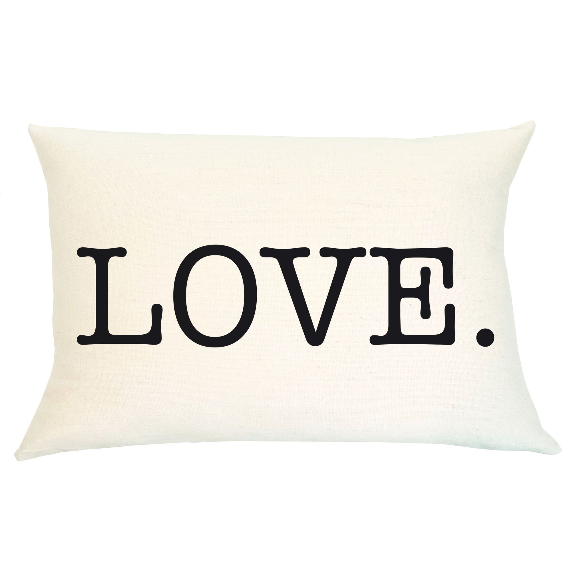Pillow Lumbar - Love - Insert Included
