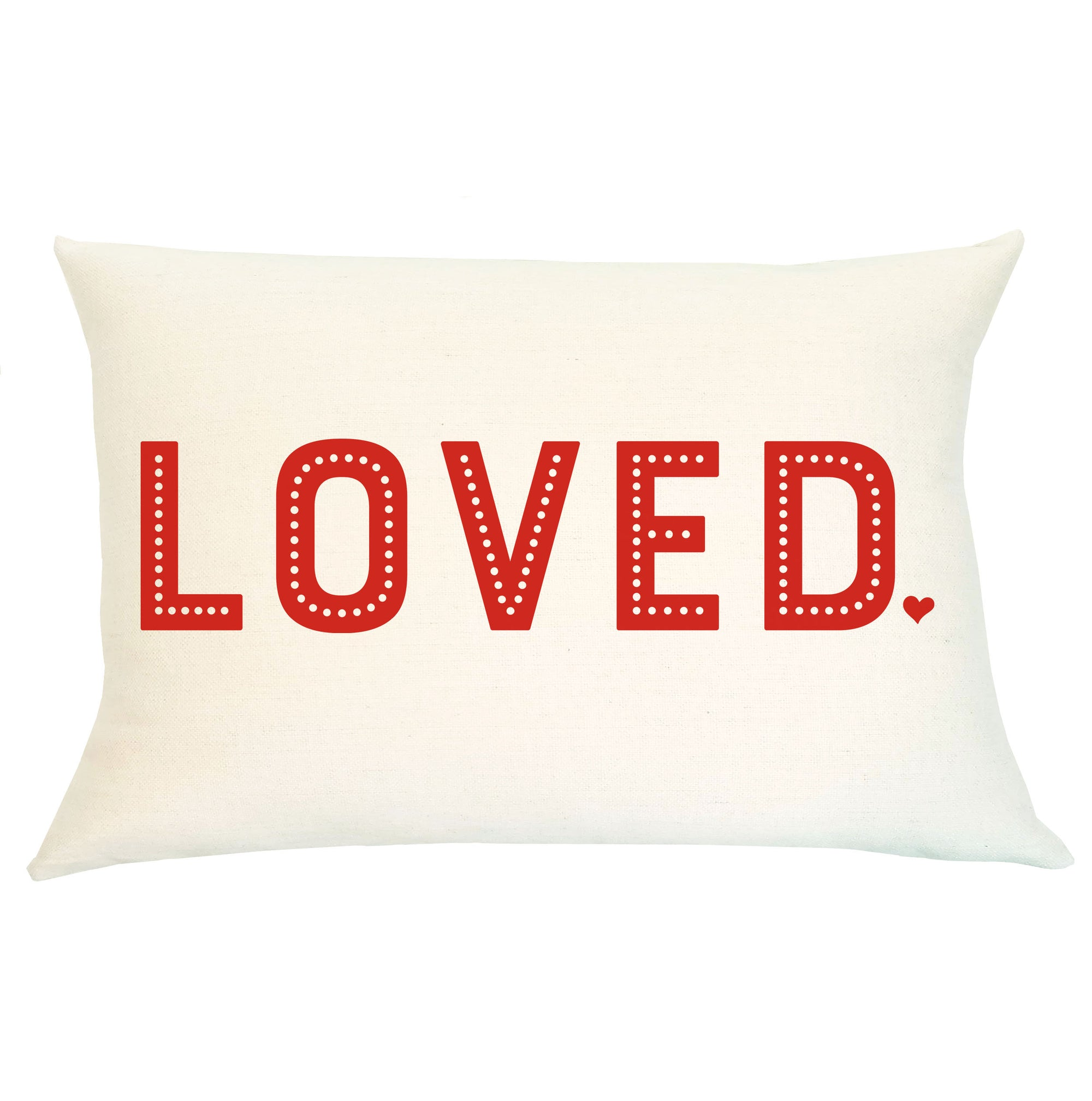 Pillow Lumbar - Loved - Insert Included