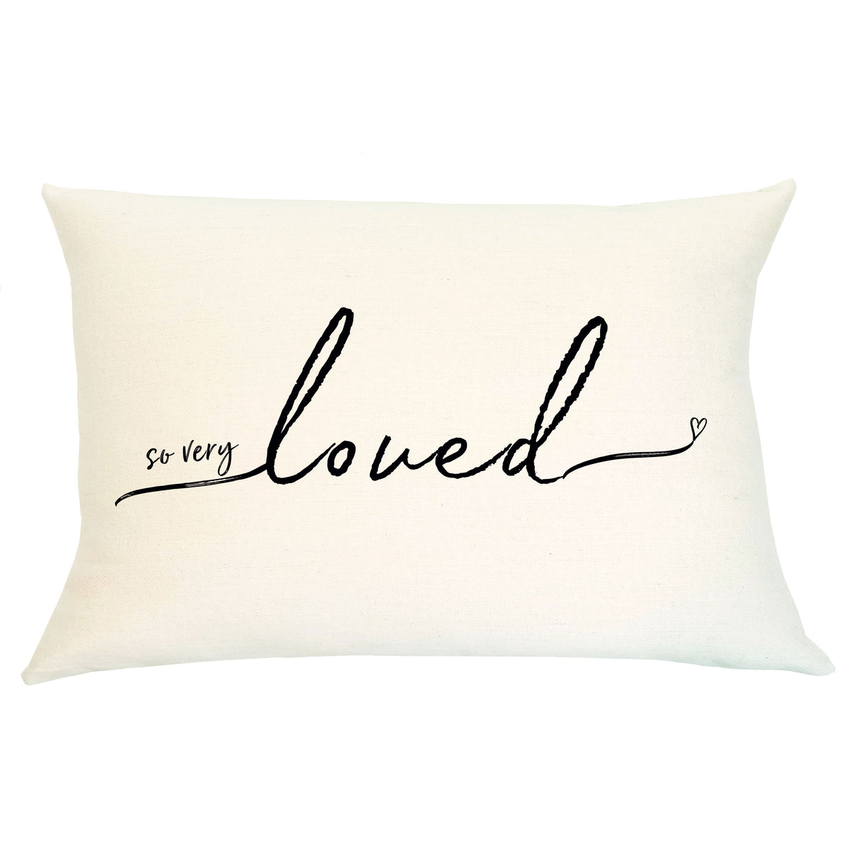 Pillow Lumbar - So Very Loved - Insert Included