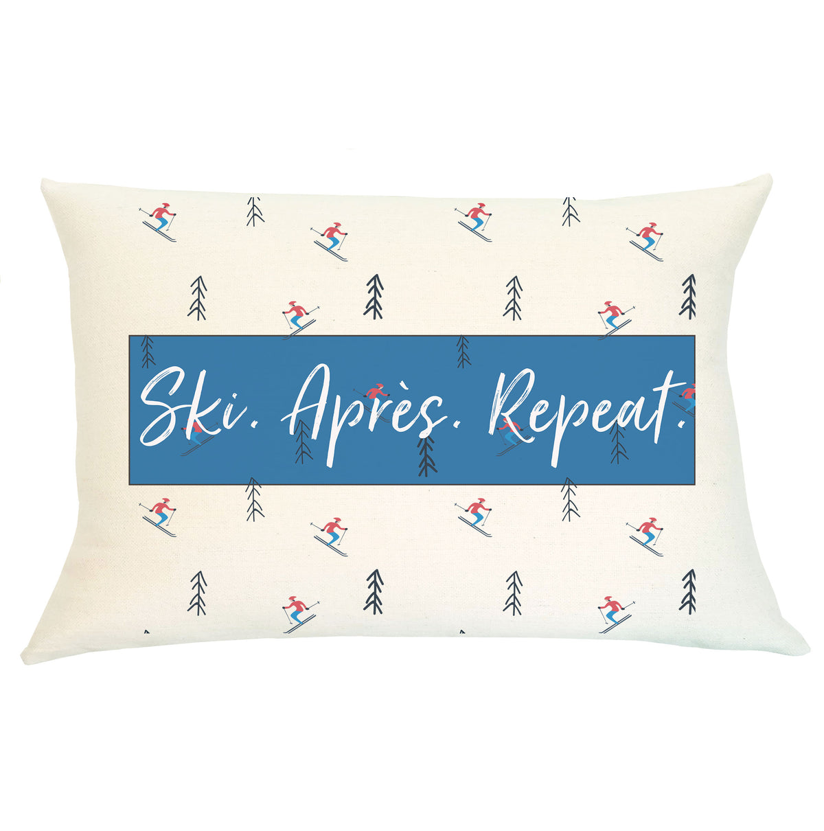 Pillow Lumbar - Ski Apres Repeat - Insert Included