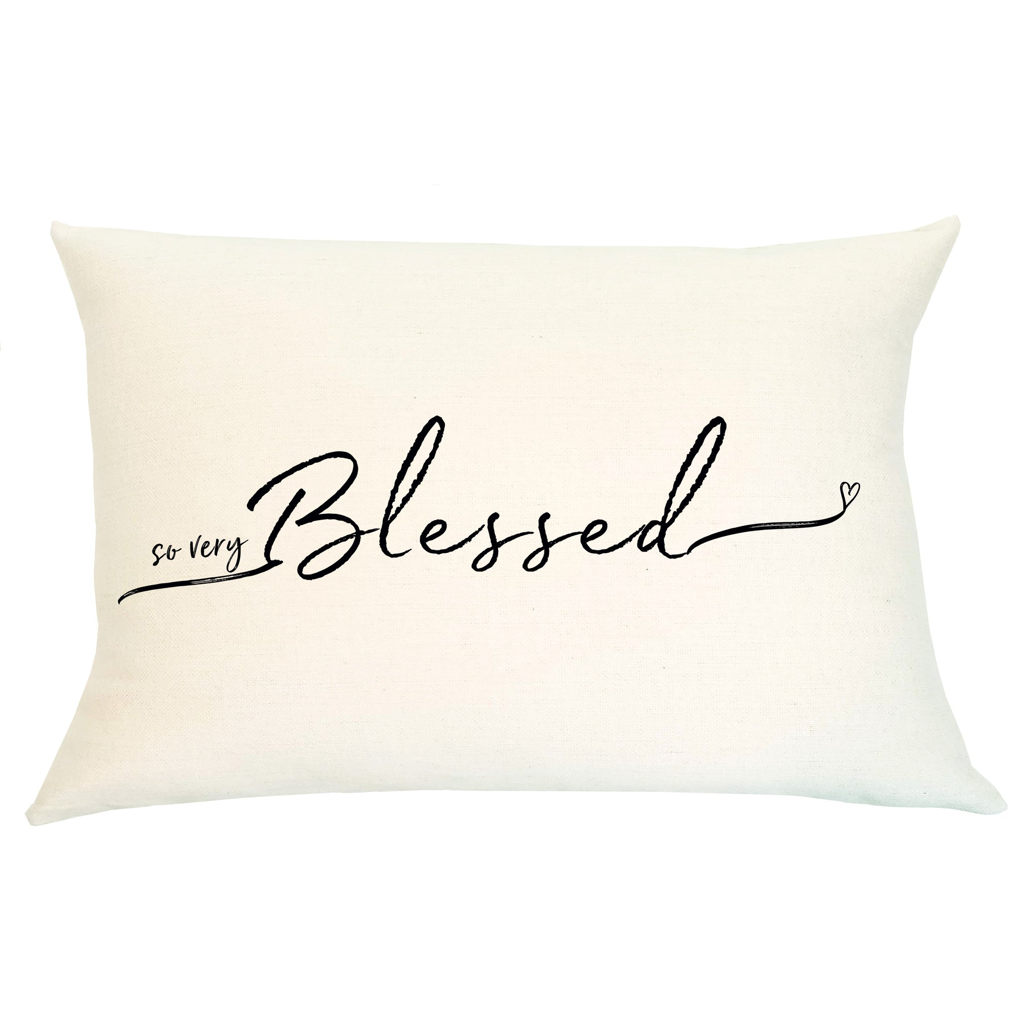 Pillow Lumbar - So Very Blessed - Insert Included