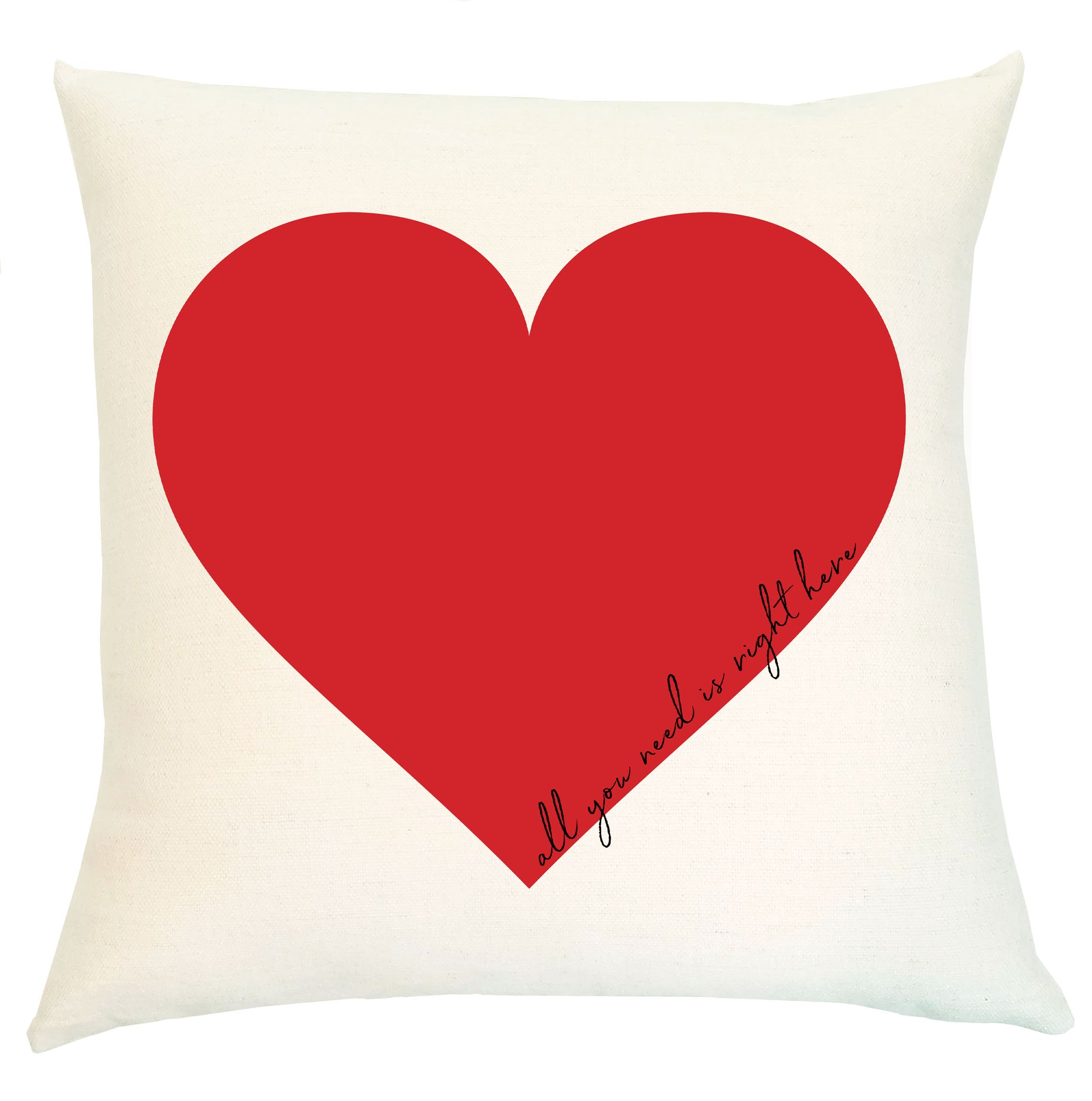 Pillow - Red Heart