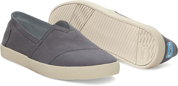 TOMS Ash Canvas Men's Avalon Slip-Ons