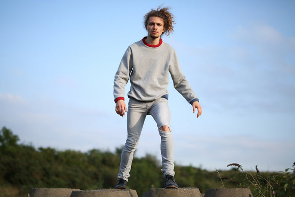 Forelsket Jersey Crewneck Sweater by Thom Botwood