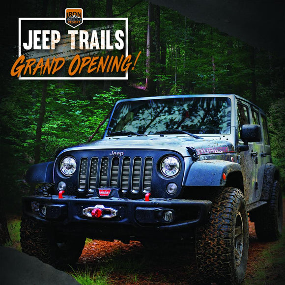 Jeep and Full-size trails GRAND OPENING tickets on sale! | Iron Mountain Resort