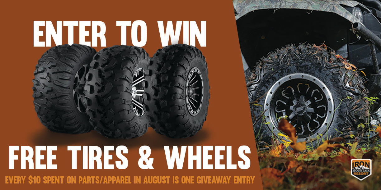 ATV tire and wheels near Atlanta